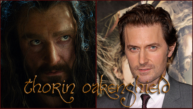 The Hobbit: The Real Faces | Richard Armitage Blog
