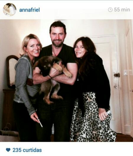 222db7015c Lovely photo of Richard Armitage and Anna Friel on Instagram ...